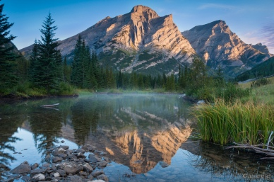 Mt Kidd Reflecting pools