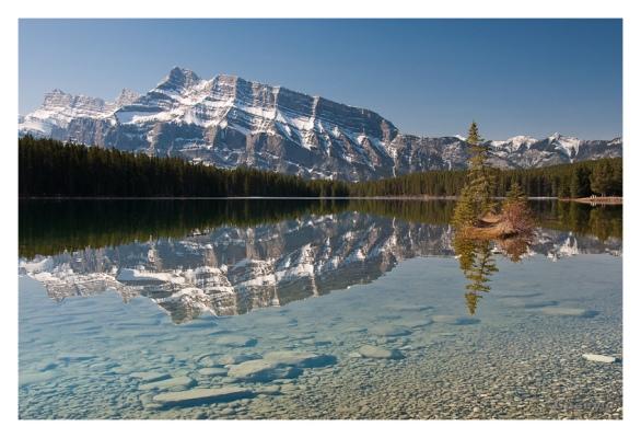 rocky reflection