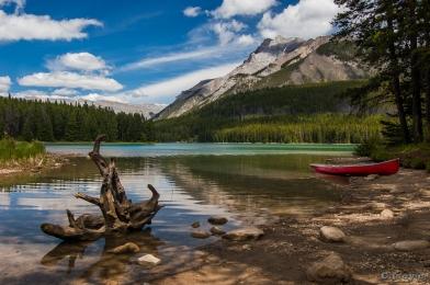 two jake lake canoe