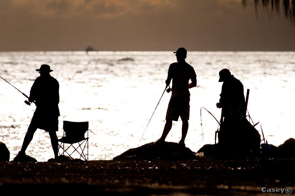 relaxing gone fishing