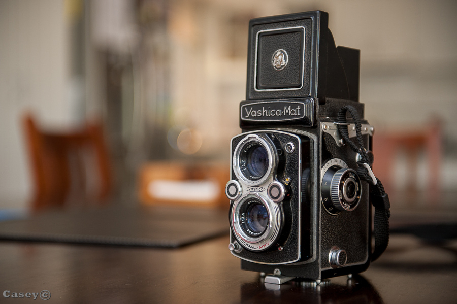 1957 Yashica Mat Medium Format film analog