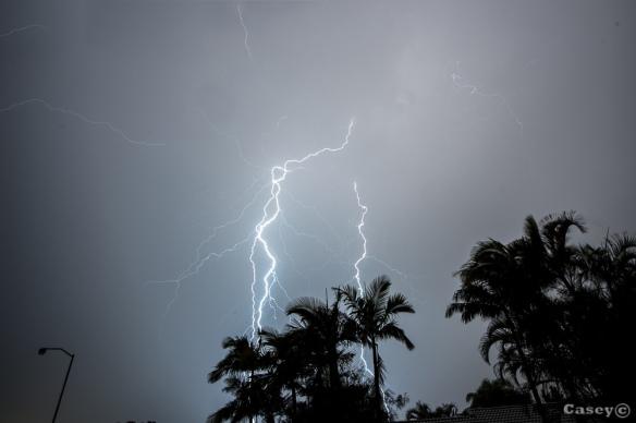 thunderstorm Brisbane