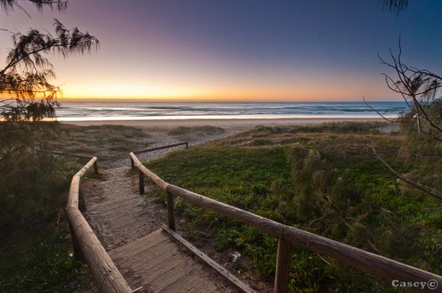 sunshine coast - pre-dawn