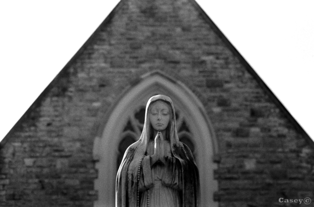 bokeh, mary, church