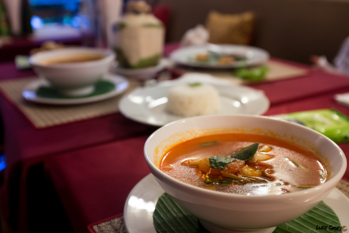 authentic Thai soup